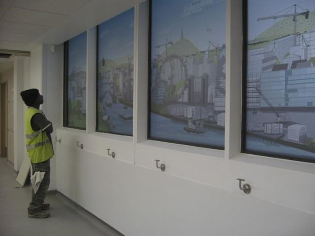 FLOW Welcome Window installation