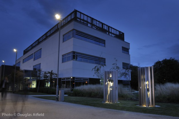 PMI Proto.. night time installation view