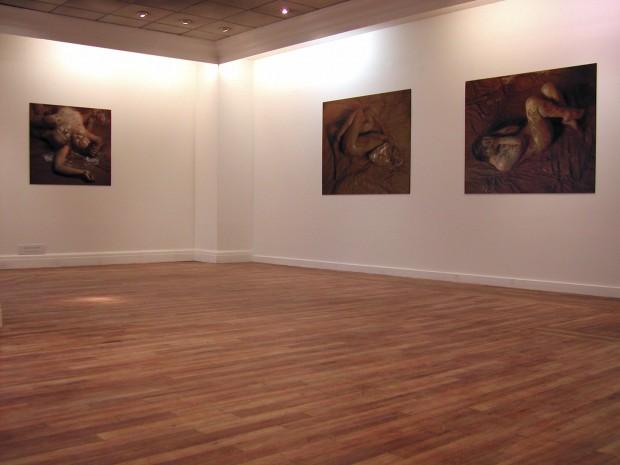Trace Elements-Vesuvius Portraits installation